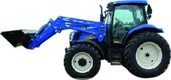 Tracteur New Hollandt8 avec pelle
