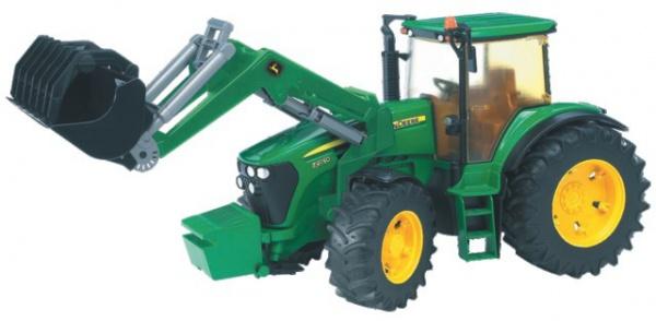 Tracteur John Deere 7930 avec pelle