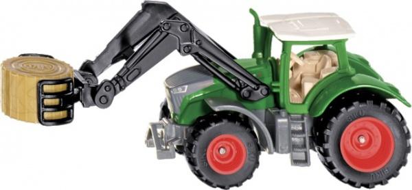 Tracteur Fendt vario 900 avec pince à balles