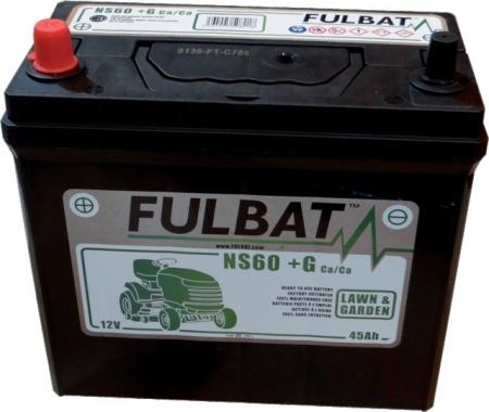 Batterie humide ns60 avec borne +gauche prête à l'emploi