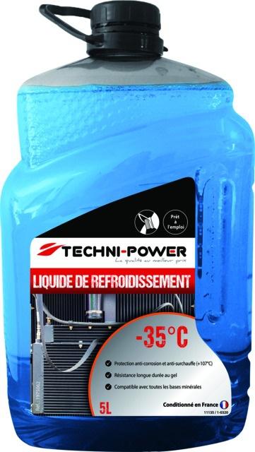 Liquide refroidissement mineral bleu -35° 5l techni power
