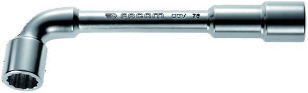 CLE A PIPE DEBOUCHE FACOM 6X12 PANS 32 MM