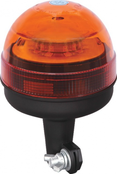 GYROPHARE LED 12/24 R65 TIGE FIXE