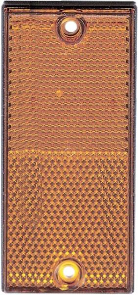 CATADIOPTRE RECTANGULAIRE 105X48 ORANGE (BOX DE 2)