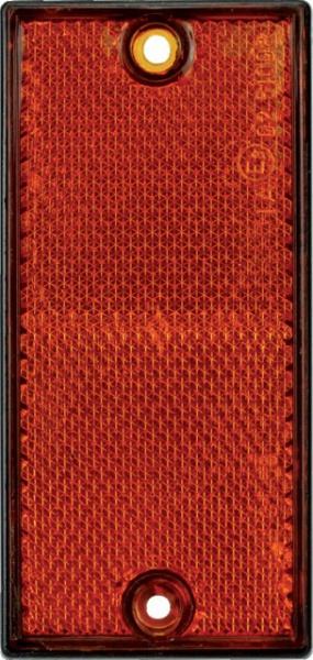 BLISTER 2 CATADIOPTRES 105X48 ORANGES