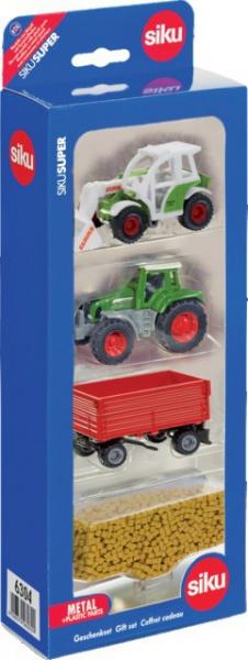 Coffret agricole (tracteur, télescopique, remorque) 4 pièces