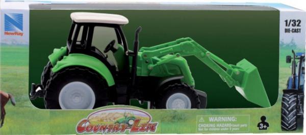 Tracteur die cast coloris suivant dispo 1/32 ne05683