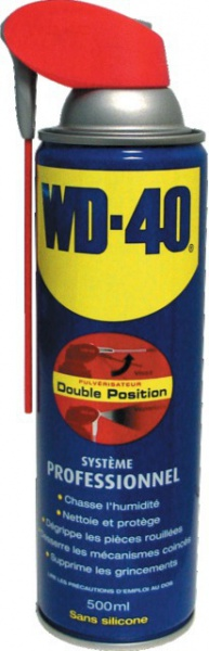 WD 40 MULTIFONCTION 500 ML PROFESSIONNEL