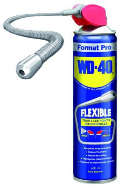 DEGRIPPANT WD 40 TUBE FLEXIBLE 600ML (PACK DE 6)