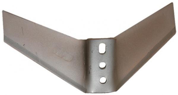 Ailette monobloc 430 mm entraxe 35X80 mm