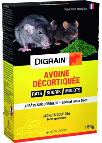 ANTI RONGEURS DIGRAIN AVOINE TRAITEE 150G