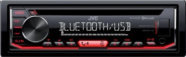 AUTORADIO BLUETOOTH 4X50W KD-R794BT JVC
