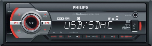 AUTORADIO USB/SDHC PHILIPS CE233/19