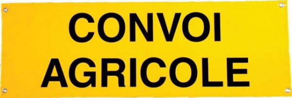 BACHE CONVOI AGRICOLE 1200X400 RETROREFLECHISSANTE