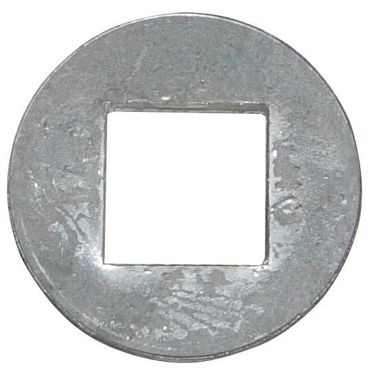 BAGUE A SOUDER POUR ARBRE CARRE DE 31 MM DIAMETRE 53X11 MM