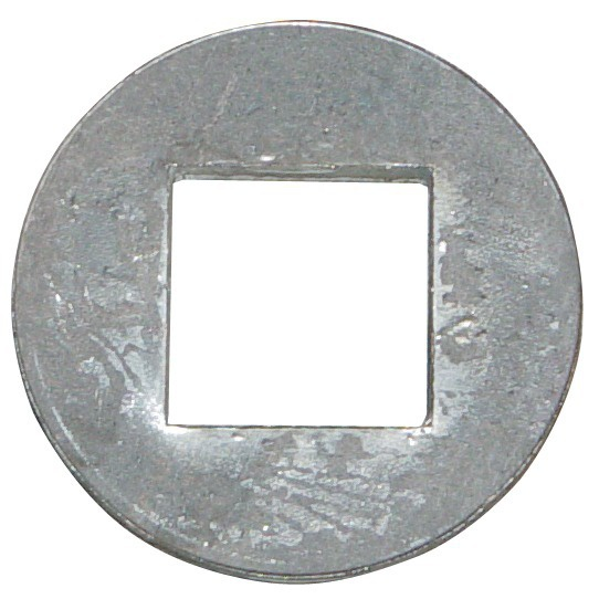 BAGUE A SOUDER POUR ARBRE CARRE DE 41 MM DIAMETRE 90X10 MM