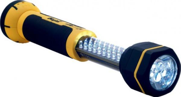 BALADEUSE 30+6 LED RECHARGE PRISE AC + SECTEUR KL30LWL