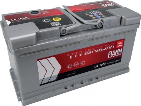Batterie 12V 100Ah 870A Titanium