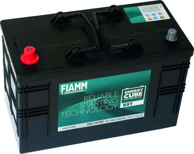 BATTERIE 12V 110AH 850A EN +GAUCHE ENERGY CUBE RST CBX110
