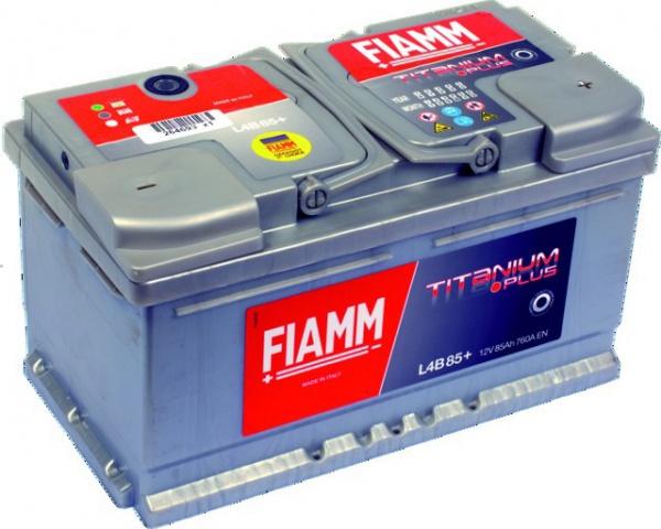 BATTERIE 12V 85Ah 760A EN +DROITE FIAMM TITANIUM PRO L4B85P