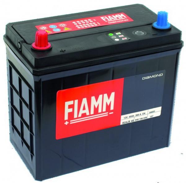 BATTERIE FIAMM B24JX 45 BLACK TITANIUM (PRETE A L\'EMPLOI)
