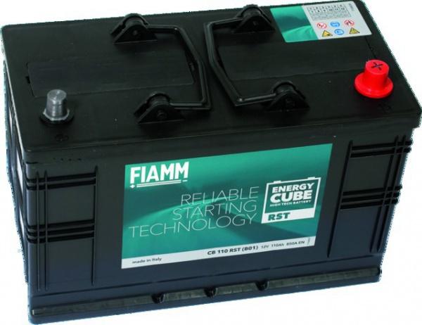 BATTERIE FIAMM CB 110 + TALON RST ENERGY CUBE 12V