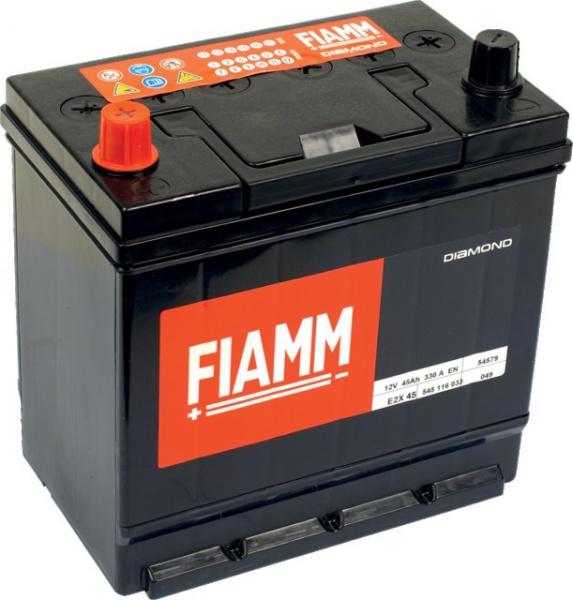 "BATTERIE FIAMM E2X 45 BLACK TITANIUM (PRETE A L\""EMPLOI)"
