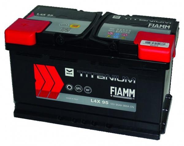BATTERIE FIAMM L4X 95 BLACK TITANIUM