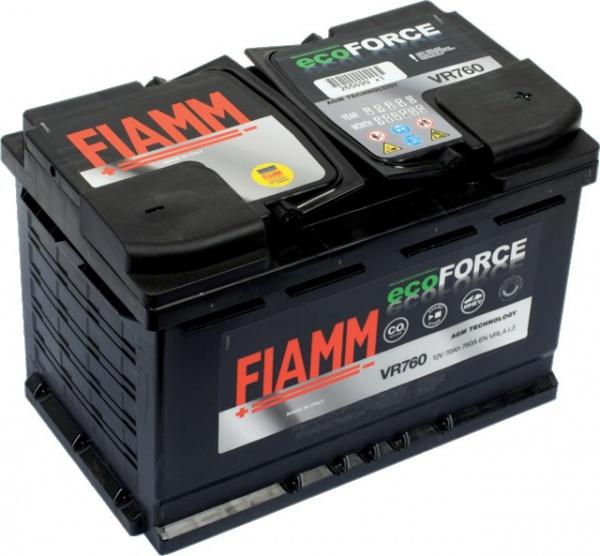 BATTERIE FIAMM VR 760 ECOFORCE AGM - SPECIALE START & STOP