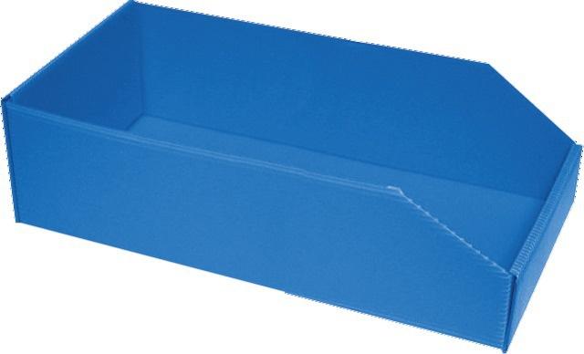 BOITE BLEUE  PLASTIBOX 380X180X105