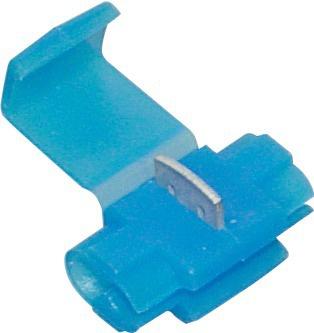 Boite de 17 connecteurs bleu auto-dénudant