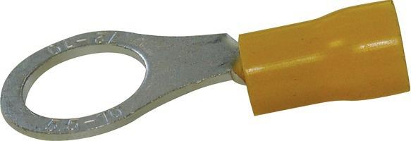 Boite de 20 cosses à sertir jaune à œil M10