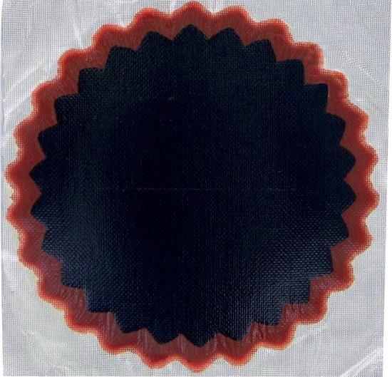 Boîte de 30 rustines rondes N°4 diamètre de 75 mm