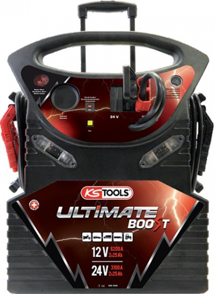 BOOSTER 12V/24V ULTIMATE 2340/1170A TROLLEY