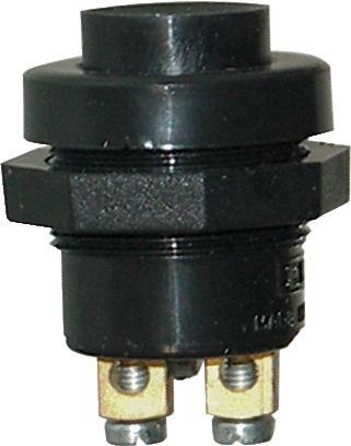 BOUTON POUSSOIR DIAMETRE 22,2mm 12V-5A (BOX)