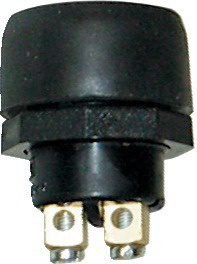 BOUTON POUSSOIR ETANCHE D.22,2mm 12V-5A (BOX)