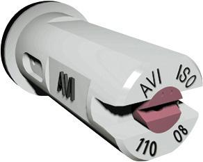 Buse anti dérive céramique ALBUZ AVI 110° BLANCHE