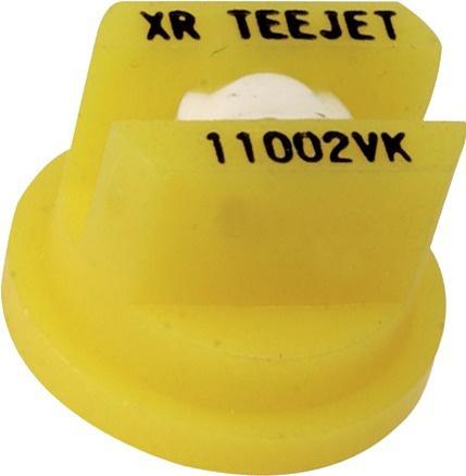 Buse céramique Teejet XR 110 02 VK JAUNE