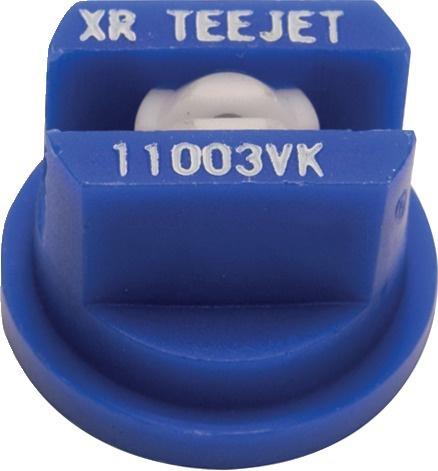 Buse céramique Teejet XR 110 03 VK BLEU