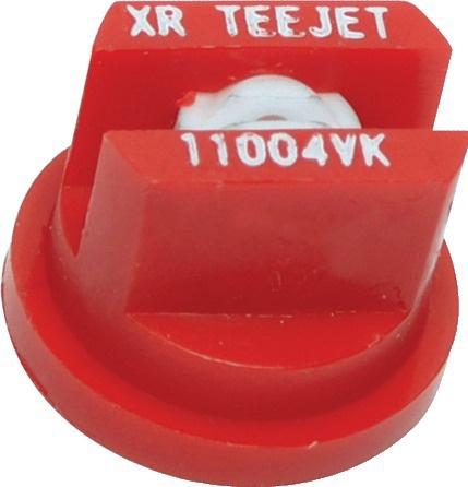 Buse céramique Teejet XR 110 04 VK ROUGE