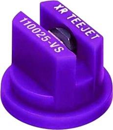 Buse Teejet XR 110 025 VP 110° LILAS polymère