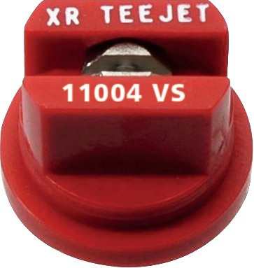 Buse Teejet XR 110 04 VS ROUGE INOX