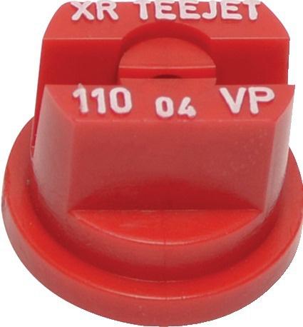 Buse Teejet XR 11004 VP 110° ROUGE polymère