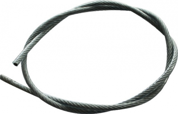 CABLE ACIER GALVA 7X19 D4-6 ENROBAGE PVC