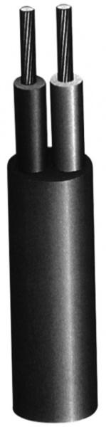 CABLE HO5VVF 2X1,5mm² GRIS 10M TOURET