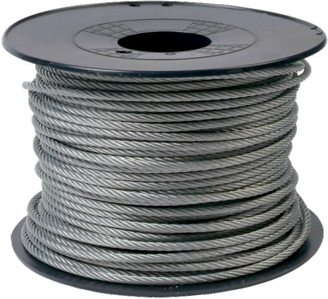 CABLE INOX 7X19 D5 AISI316 1770Nmm2 BOBI.100M