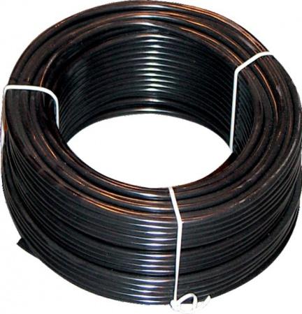 Câble noir cinq conducteur de section 1,5 mm²
