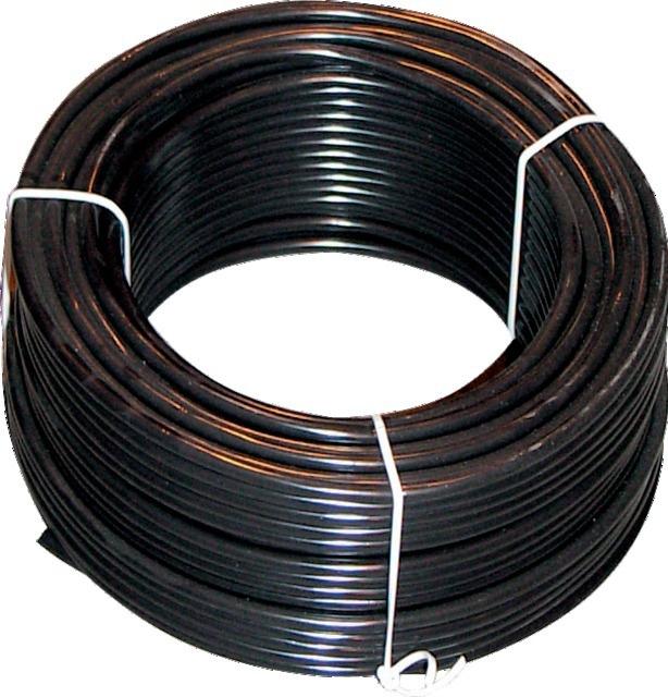 Câble noir deux conducteur 1,5 mm²