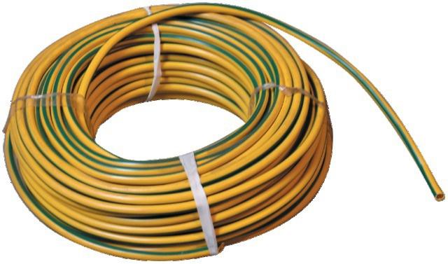 Câble vert-jaune de terre 35 mm²