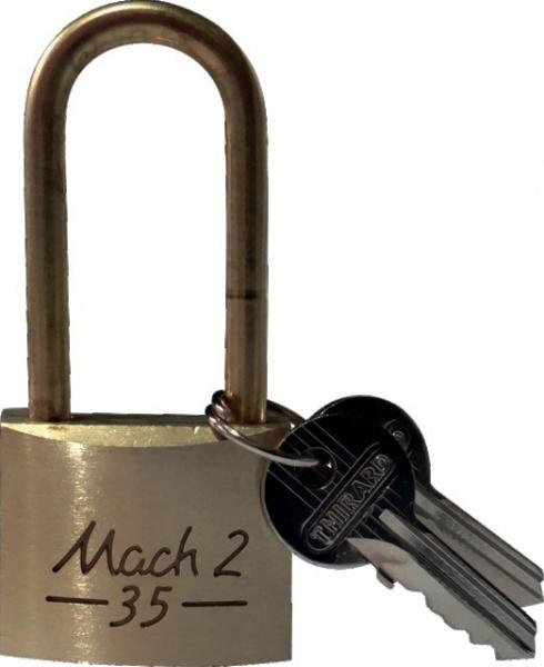 CADENAS MACH-2 35MM ANSE HAUTE 45 MM + 2 CLES